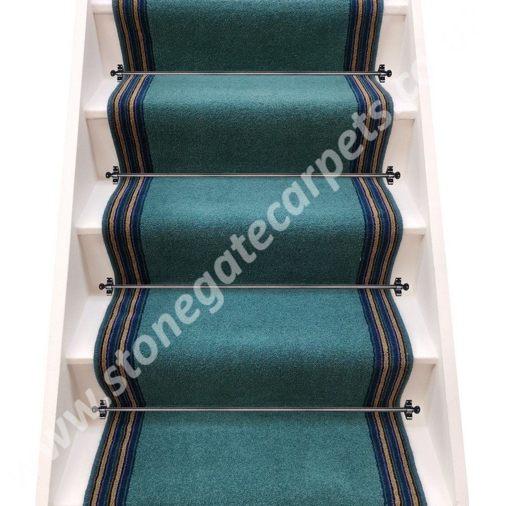 Axminster carpets devonia plains blue grass navy lime