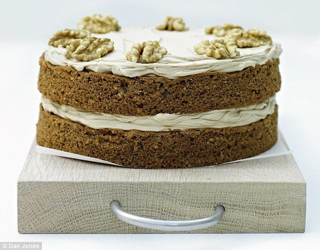 Recipe Lemon Drizzle Cake Delia Smith: Delia's Cakes: Coffee And Walnut Sponge Cake