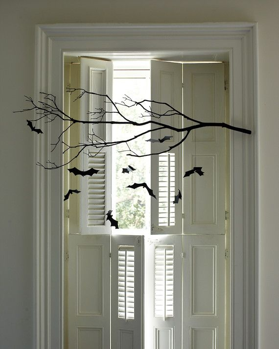 Indoor Halloween Decorations Bats, Halloween ideas and Halloween