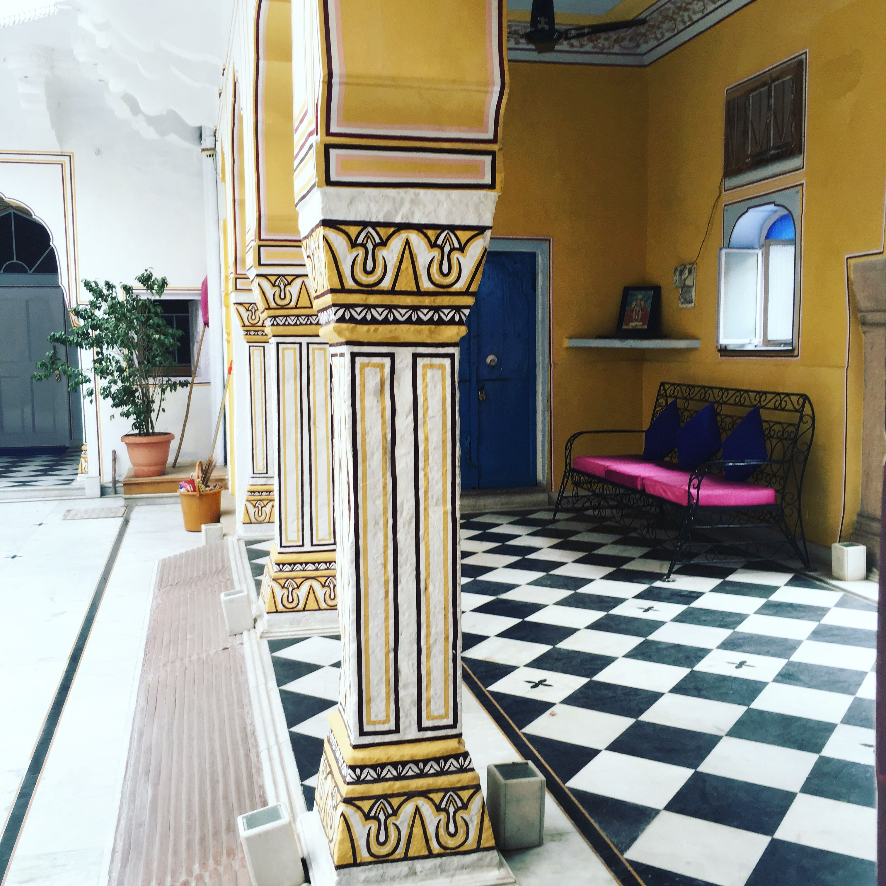 diggi palace jaipur haveli heritage hotel interiors inspiration traditional architecture indian inspired decor - Traditional Hotel Interior