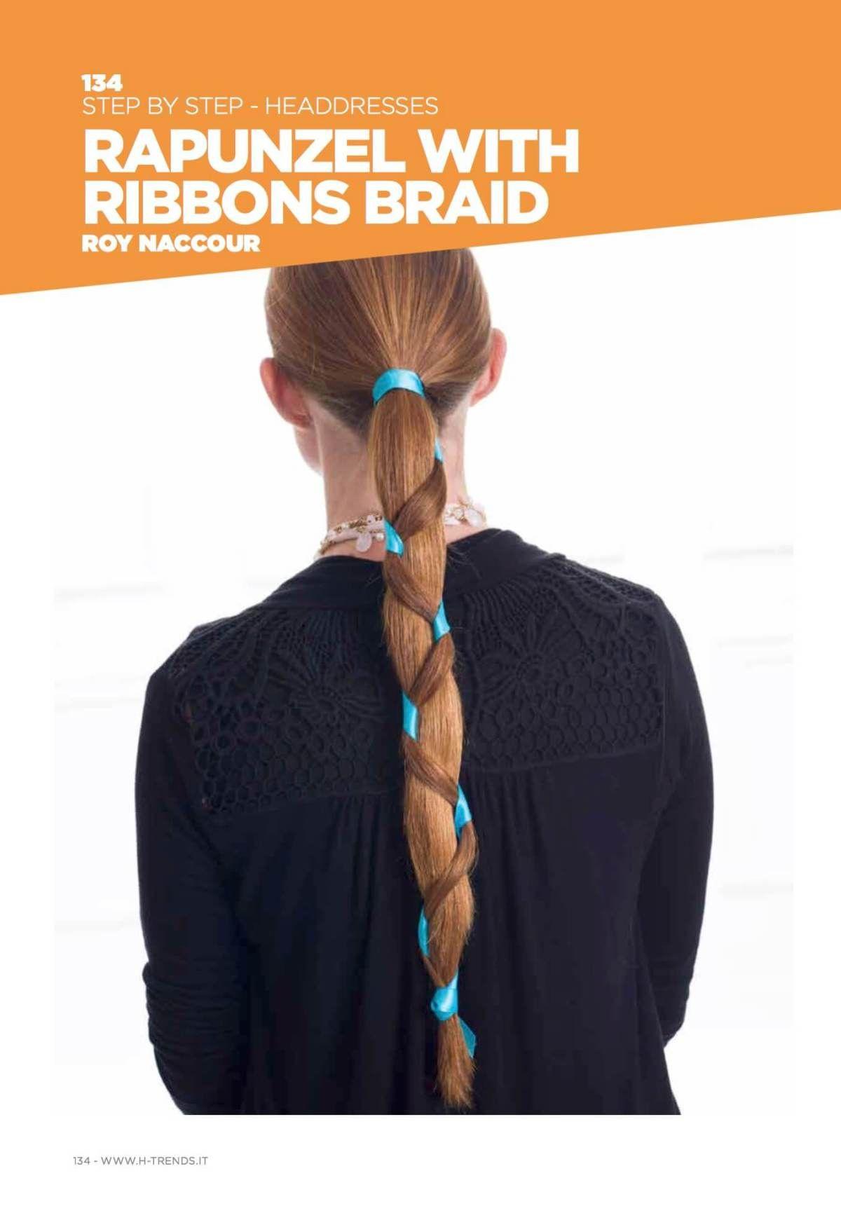 H Trends Italian Magazine J Joseph Salon Hair Magazine Ribbon Braids Trending