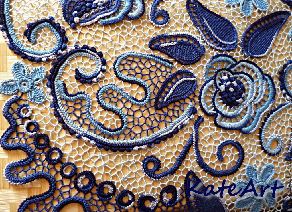 Pin de Beatrice Hartz en crochet | Pinterest | Crochet irlandés y Puntos