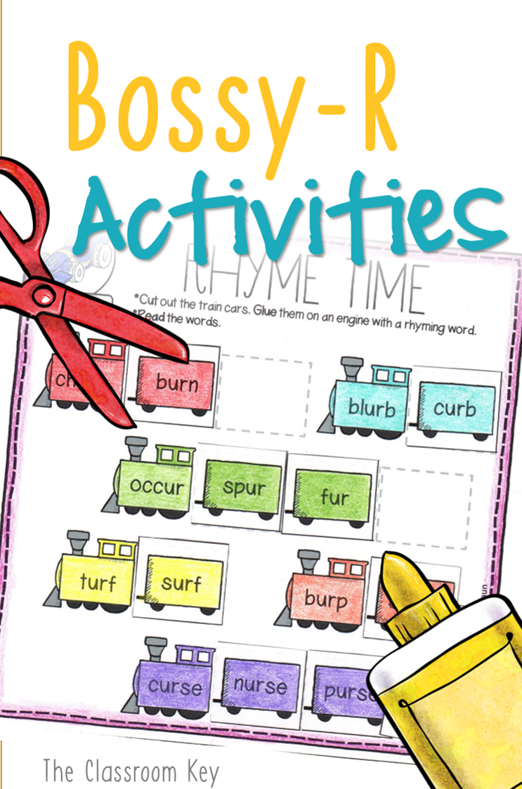 worksheet Bossy R Worksheets bossy r controlled vowels activity worksheets 1st or 2nd grade phonics