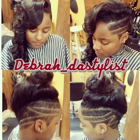 Sew In Mohawk Sides Cut Short