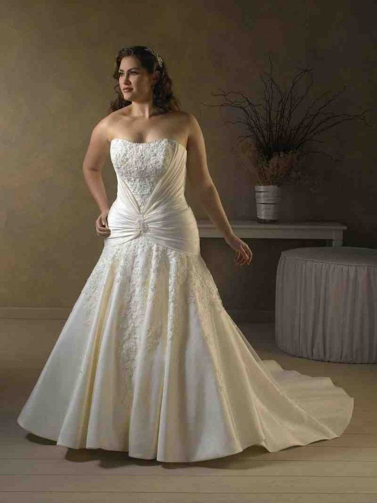 be7b31a3204 Petite Plus Size Wedding Dresses