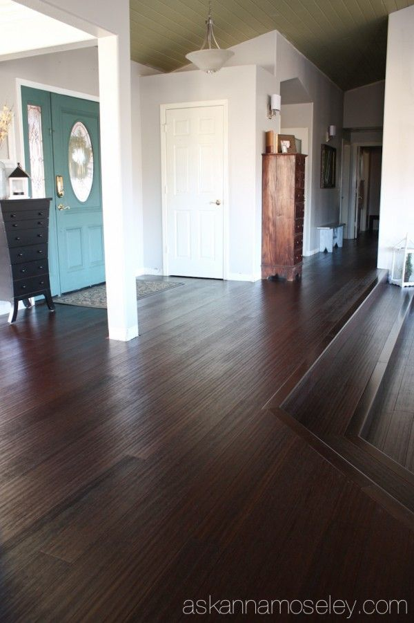 Bamboo Flooring ... This Would Look Great In Our Office