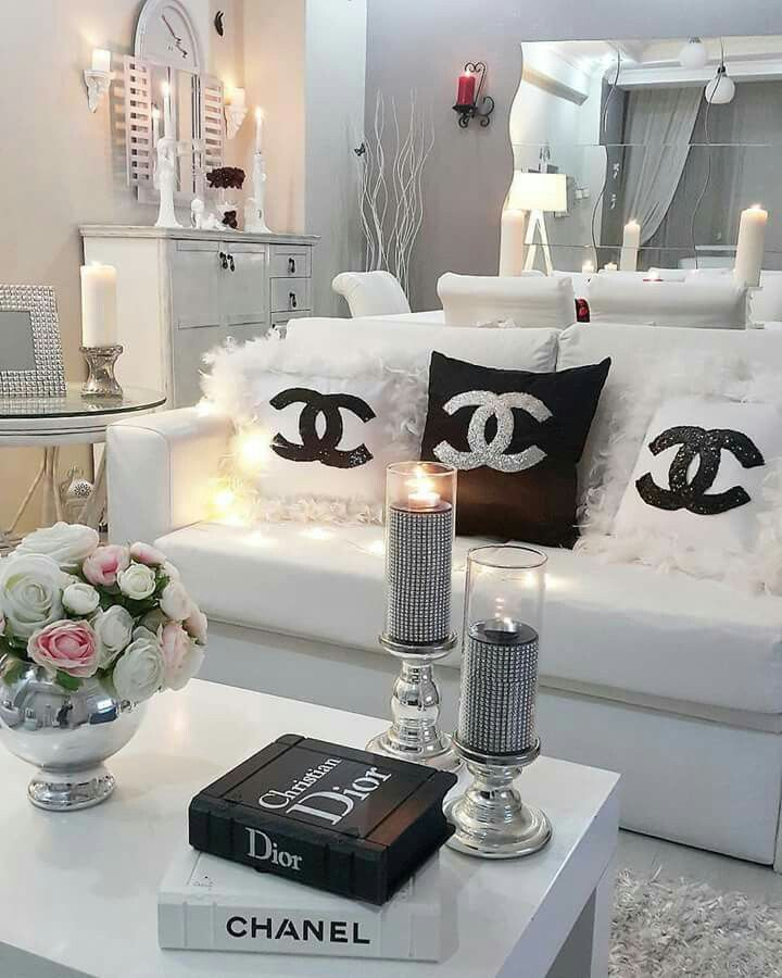 Pin By Nailfile Net On Chanel Chanel Decor Living Room Decor Decor
