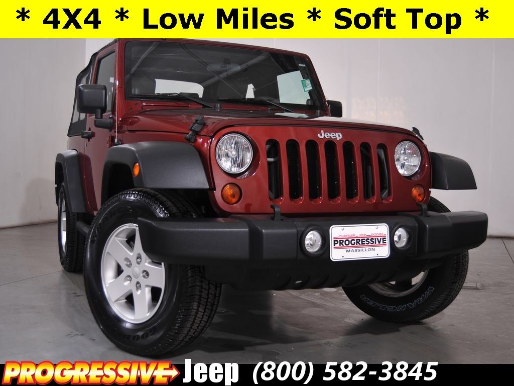 Check out this 2010 Jeep Wrangler Sport in Massillon, OH