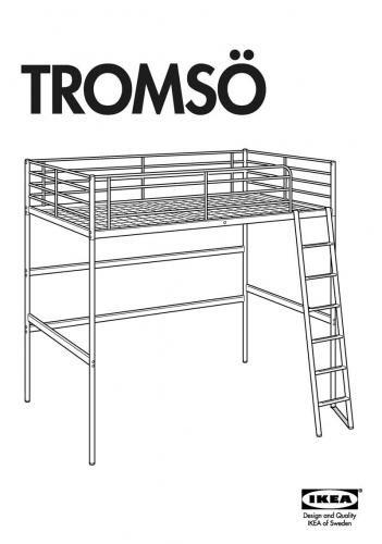 Tromso Loft Bed Full Instructions Ikea Fans Ikea Loft Bed