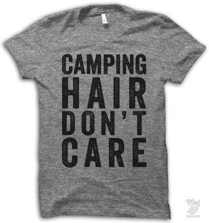eccb9555a Camping Hair Don't Care | Brooklyn Backroom Shirts | Fashion ...