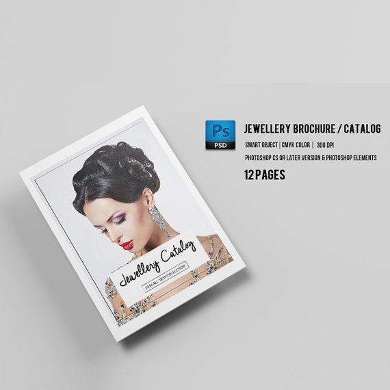 Jewellery Catalog Template  Product Display Brochure  Photoshop