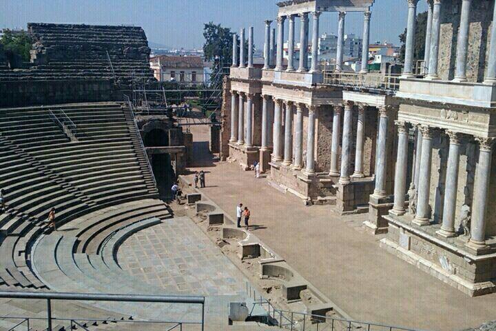 Anfiteatro Romano Merida Badajoz Merida Anfiteatros