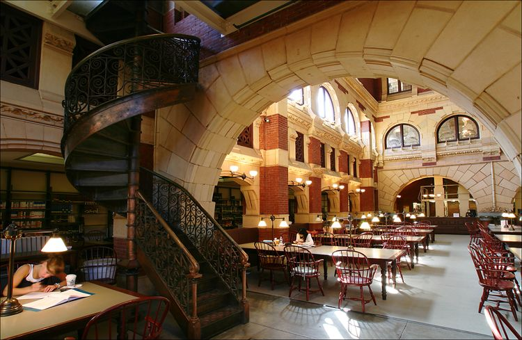 Fisher Fine Arts Library University Of Pennsylvania City Architecture Architecture Fine Art