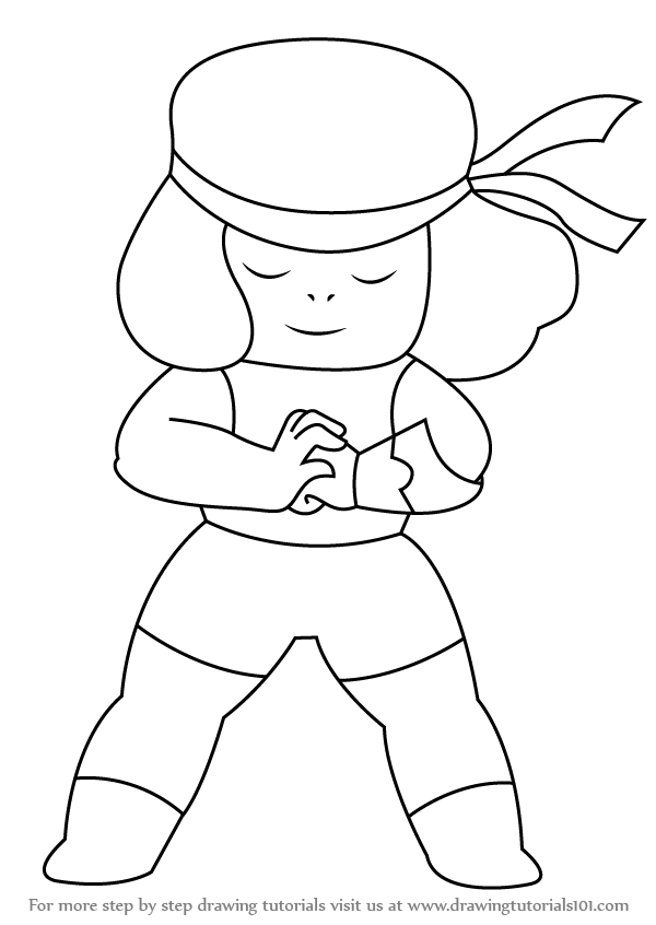 Learn How to Draw Ruby from Steven Universe (Steven