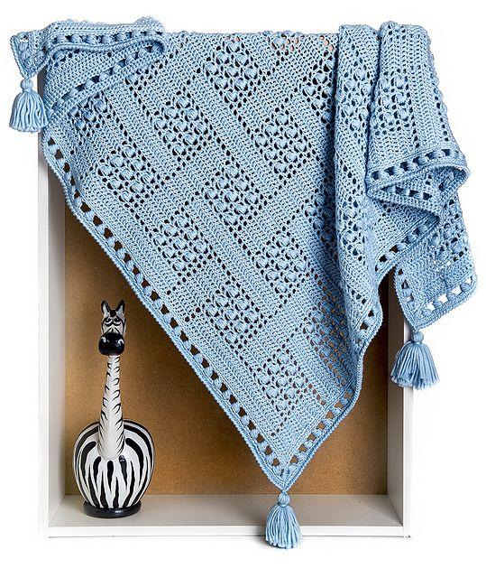 Dream Catcher Blanket Throw pattern by Alla Koval | Häckeln, Decken ...
