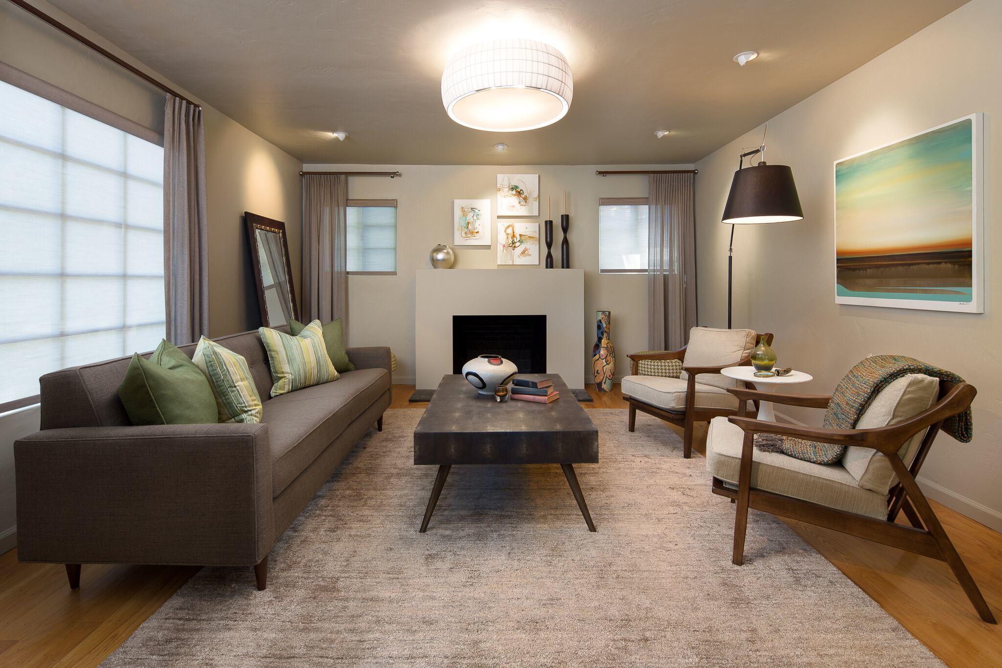 Artemide Tolomeo Mega Black And Carpyen Isamu Semi Flushmount Room Home Gorgeous Interiors