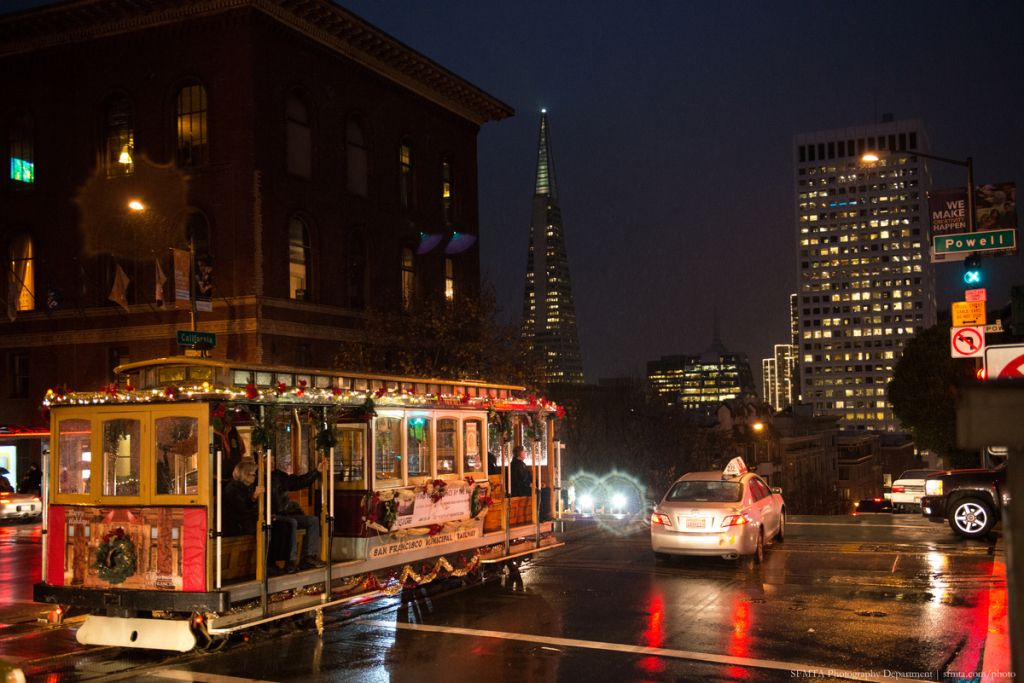 Night Street Scenes and Cable Cars