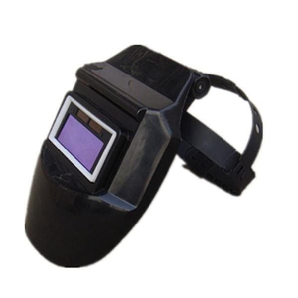 Auto Darkening Filter Lens Welder Leather Headset Face Welding Safe Helmet Mask
