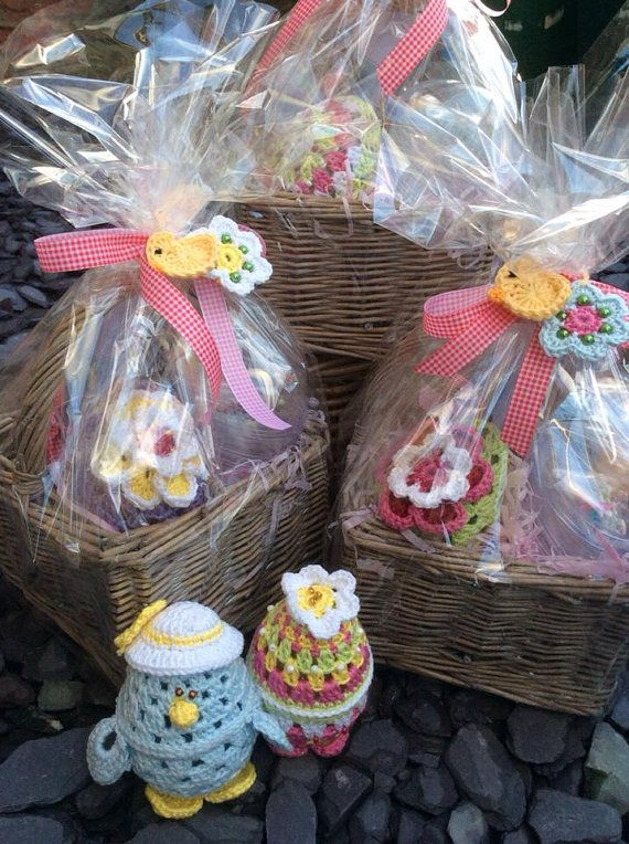 Easter luxury crochet hamper gifts hampers pinterest easter luxury crochet hamper gift hamperseaster negle Image collections