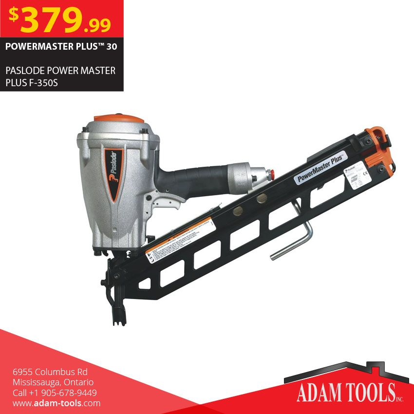Now available at Adam tools with great price PASLODE POWER