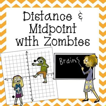 Worksheets Activity Worksheet Distance And Midpoint Exploration Answers distance and midpoint practice activity from http this zombie themed will strengthen your students skills in calculating are given a graph with zombies