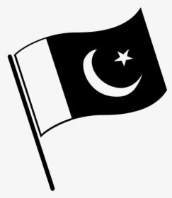 Pak Flag Black And White Pakistan Flag Black White Hd Png Download Pakistan Flag Black And White Paks