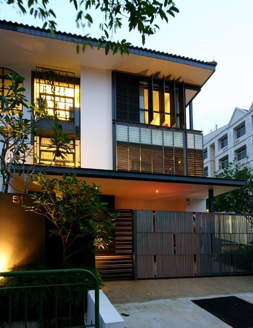 Shutters humble abode house styles industrial contemporary interior design singapore home also best style images residential architecture rh pinterest