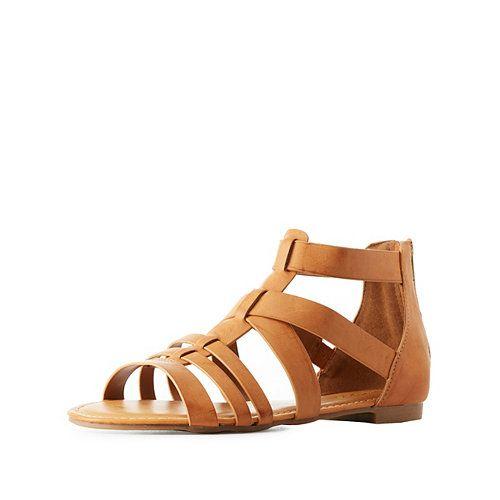 ff7217b8e400 Flat Gladiator Sandals