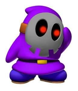 Purple Shy Guy Mario And Luigi Mario Bros Super Mario Bros