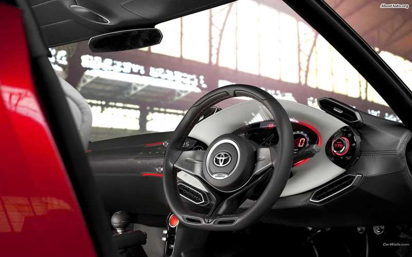 Toyota FT 86. You can download this image in resolution 1920x1200 having visited our website. Вы можете скачать данное изображение в разрешении 1920x1200 c нашего сайта.