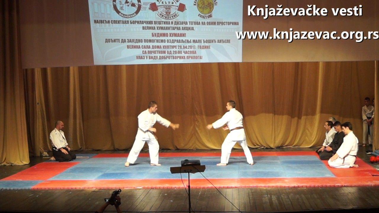 Humanitarni spektakl borilačkih veština i dizača tegova 3 deo Aikido,  Hapkido