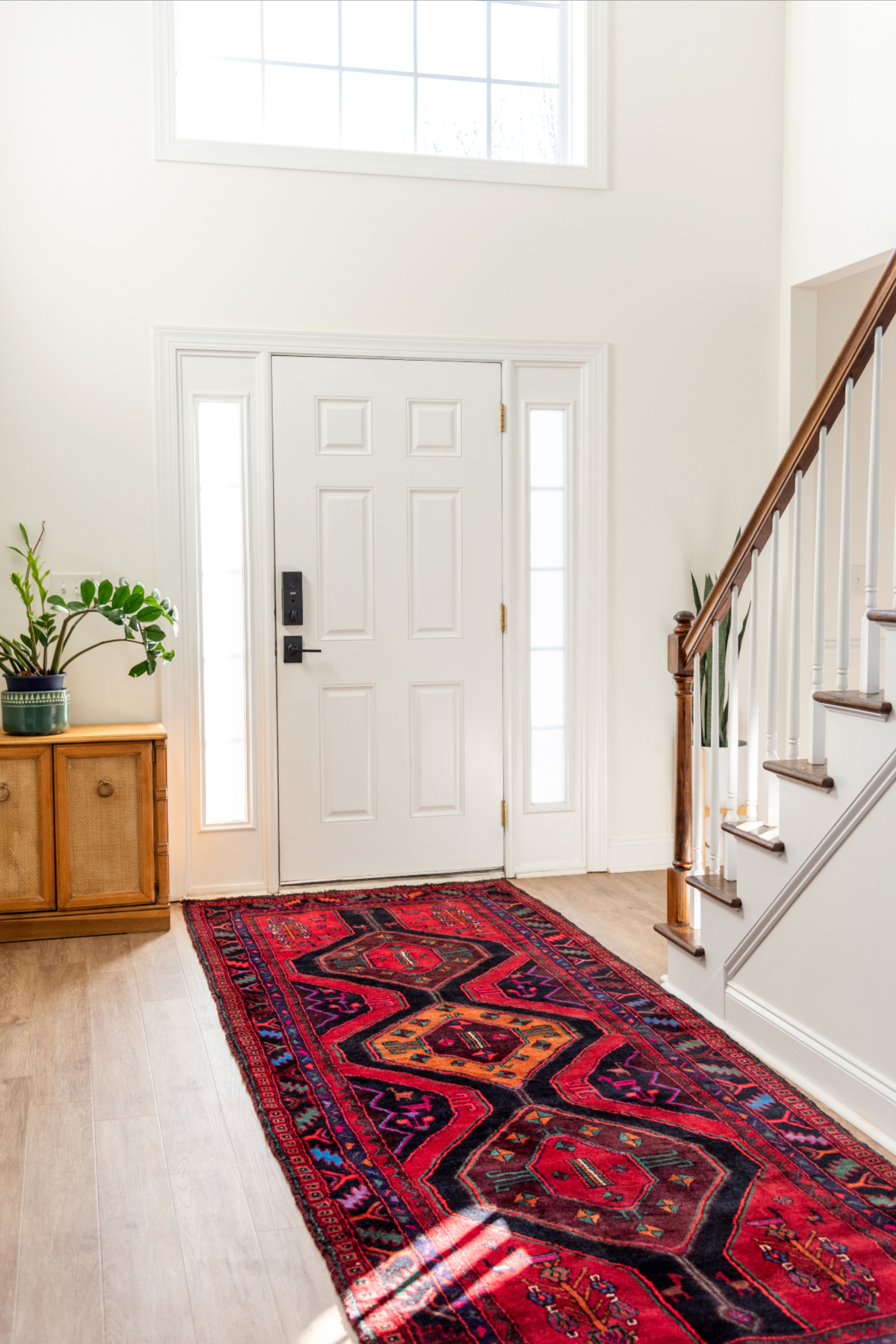 Craft A Stunning Tribal Entrance Into Your Home Using Our Meshkin Persian Rug Tribaldecor Entryway Homedecor Rugs Entryway Style Persian Rug Runners