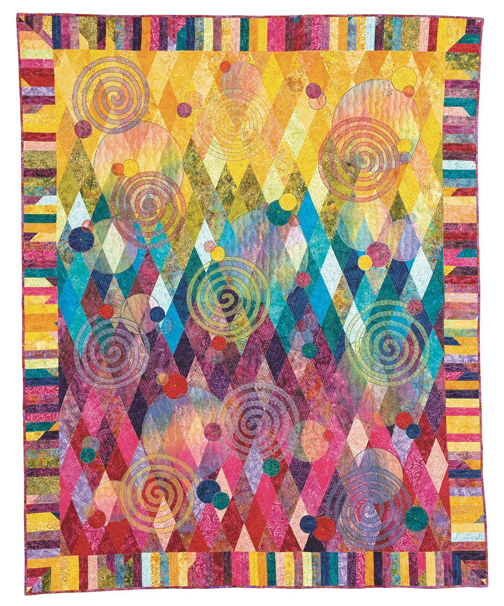 Patchwork Quilting A Spotlight On Claudia Pfeil Quilts Patchwork Quilts Art Quilts