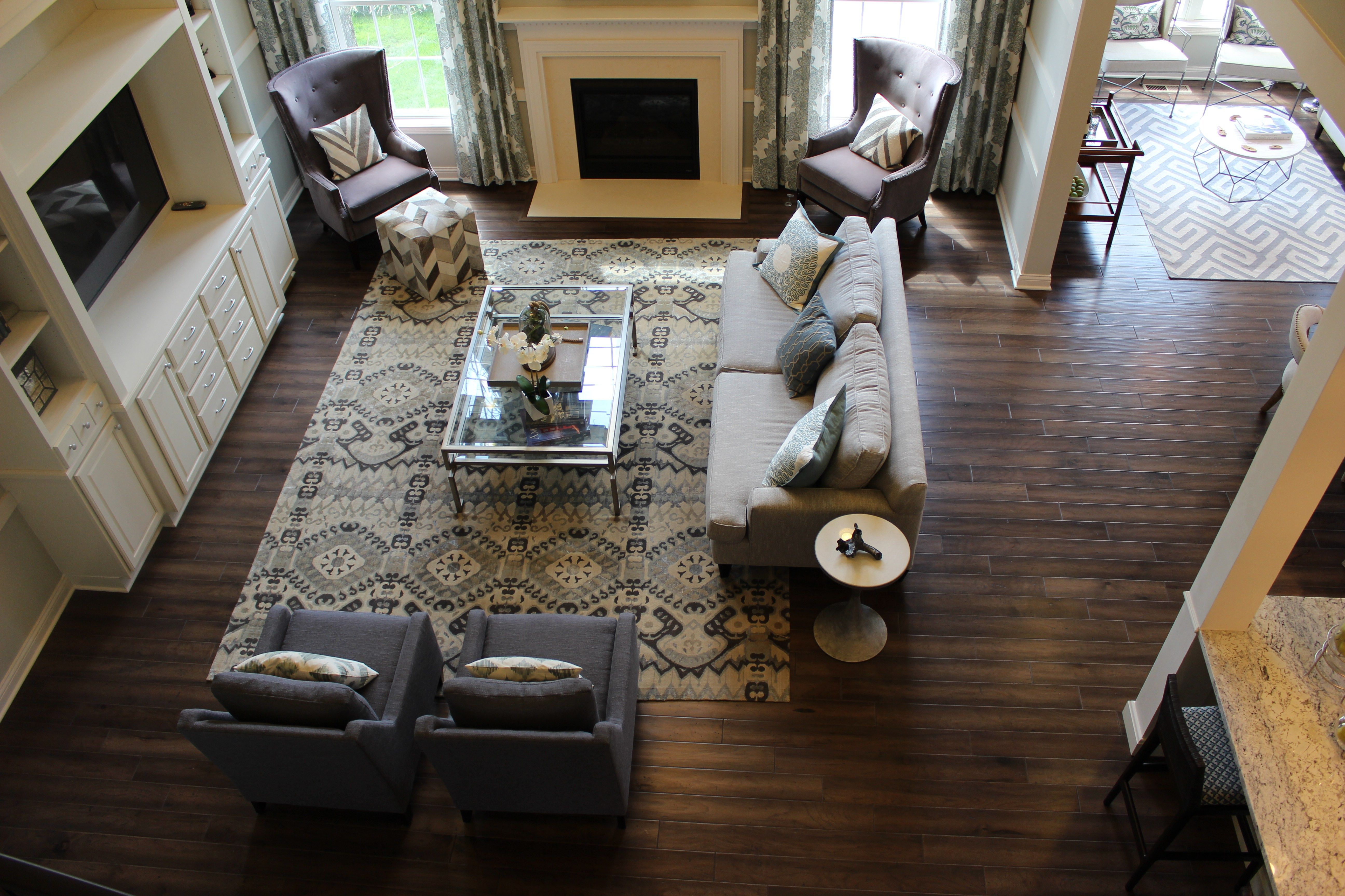 Great room layout open floor plan furniture layout two story great ...