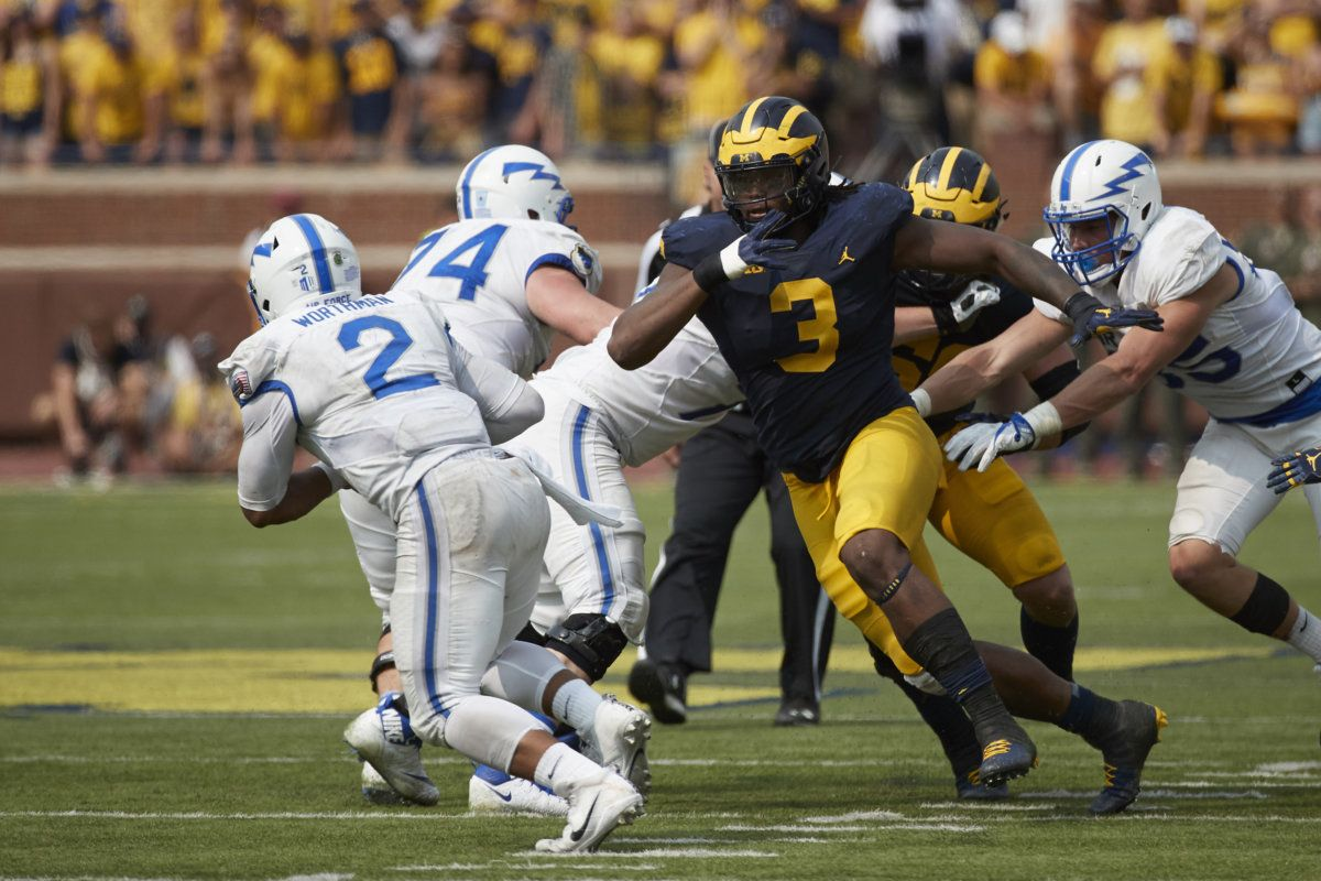 Rashan Gary Has Signed With The Packers But Some Injury Concerns Remain With Images Green Bay Packers Jerseys Demarcus Lawrence Green Bay Packers Football