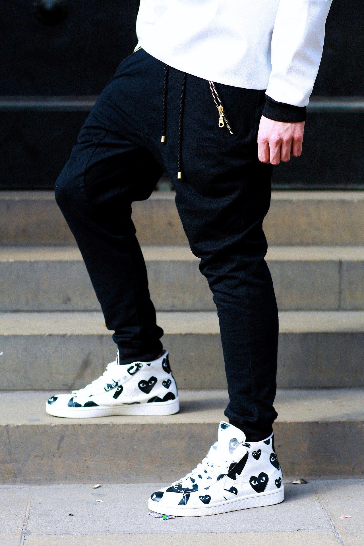 finest selection f4c5e 9fa2b Comme Des Garcons  fashion  sneakers Street Goth, Men Street, Street Wear,
