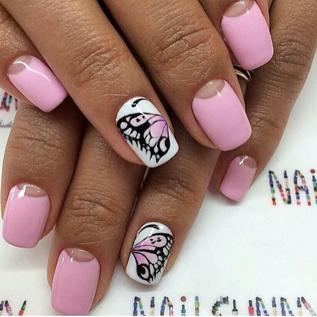 Nail Art #4679   Best nail art designs, Pink nails, Nail drawing