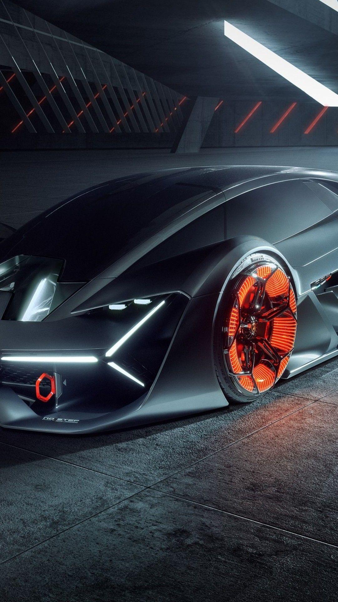 Lamborghini Terzo Millennio 2019 Car In 1080x1920 Resolution With