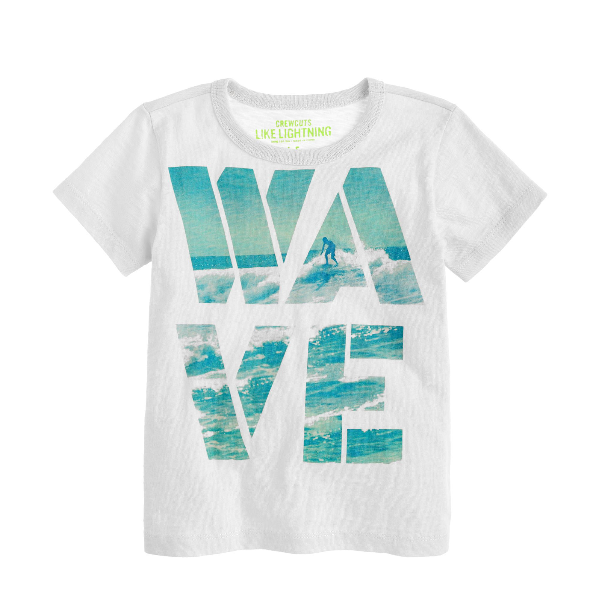 Boys' wave tee   Boys t shirts, Boys graphic tee, Boys fashion trends