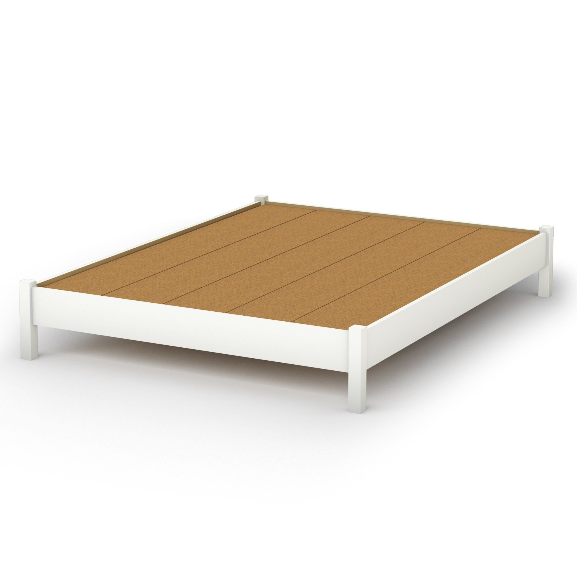 South Shore Sandbox Collection 60Inch Queen Platform Bed