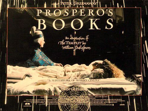 Prospero's Books (1991), by Peter Greenaway this is visually stunning altered book fanatics watch with care