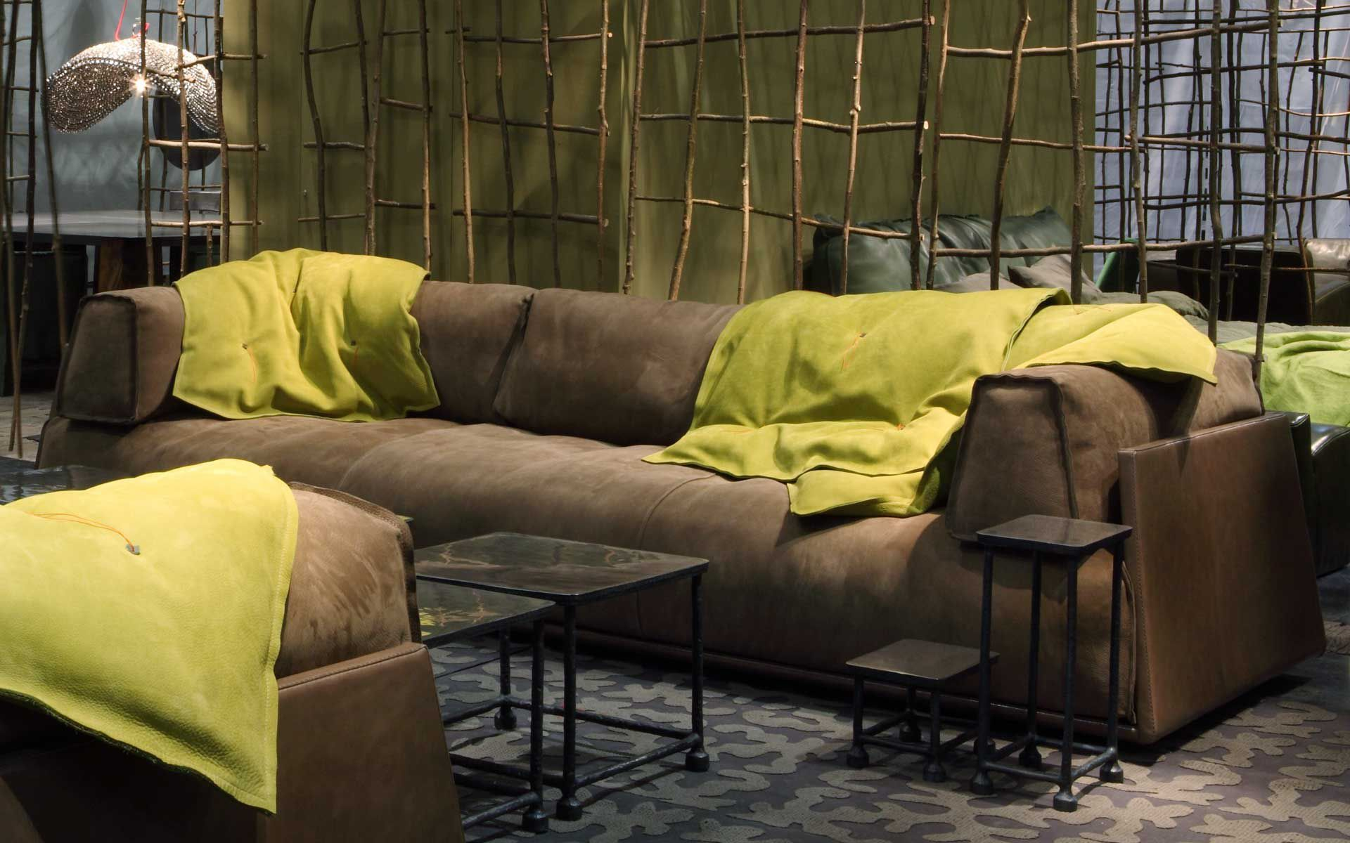 Merveilleux Contemporary Leather Sofa   HARD U0026 SOFT By Paola Navone   Baxter