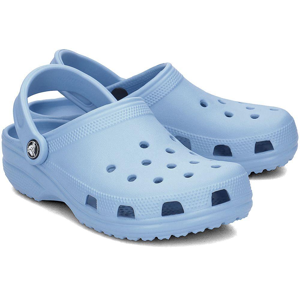 12e29a4c550aee CROCS - Crocs Classic - Klapki Damskie - 10001-CHAMBRAY BLUE in 2018 ...