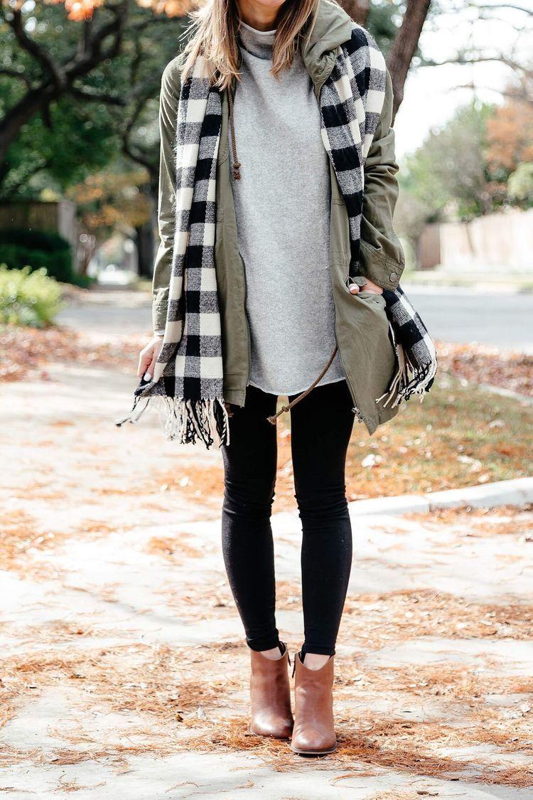 Casual winter outfit i...