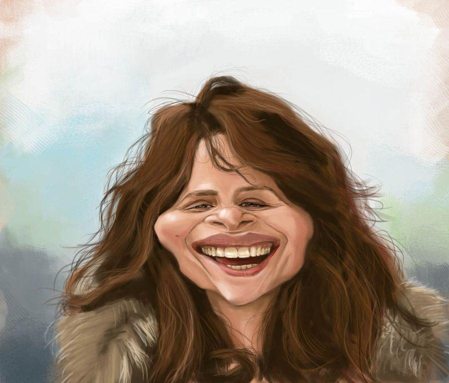 Juliette Binoche Caricature by DoodleArtStudios.deviantart.com on @deviantART