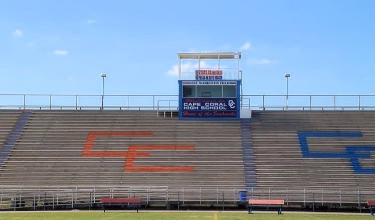Cape coral high school football stadium naming rights