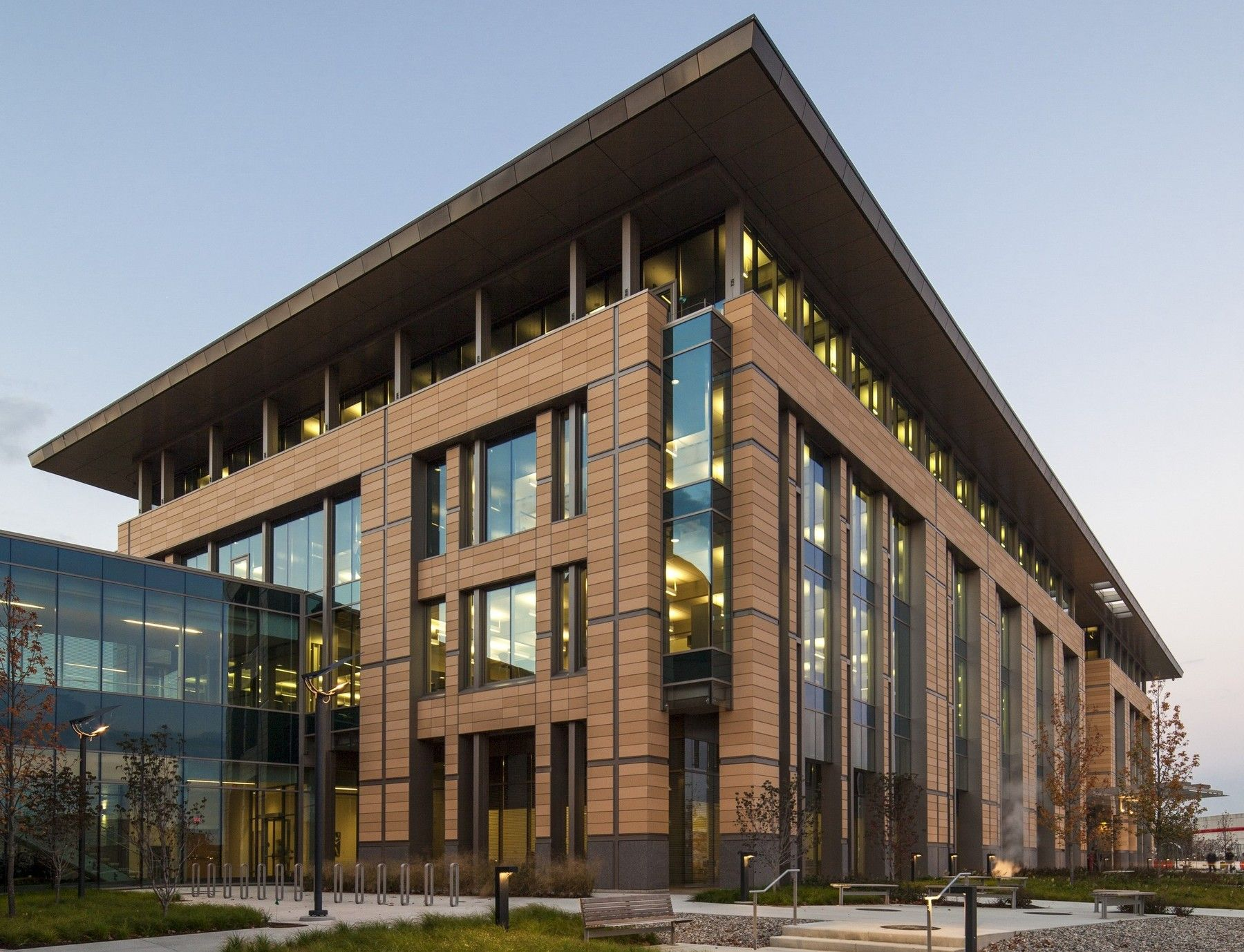 ncaa headquarters terracotta rainscreen shildan terracotta rainscreen facade
