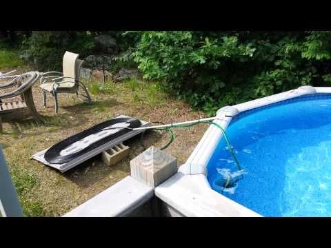 How To Make A Easy Diy Solar Pool Heater Youtube Pool In 2018