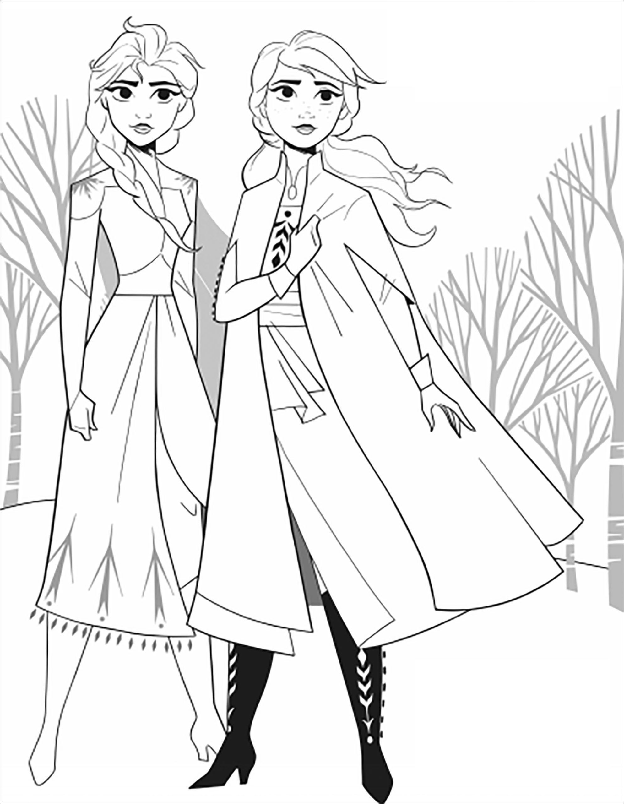 Free Printable Disney Coloring Pages And Games From 40 Disney Movies In 2021 Elsa Coloring Pages Frozen Coloring Pages Frozen Coloring