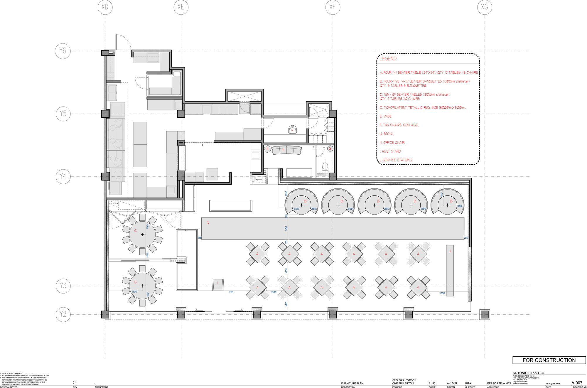 Restaurant Kitchen Floor Plan Jing Restaurant  Antonio Eraso  Restaurants Ceiling And